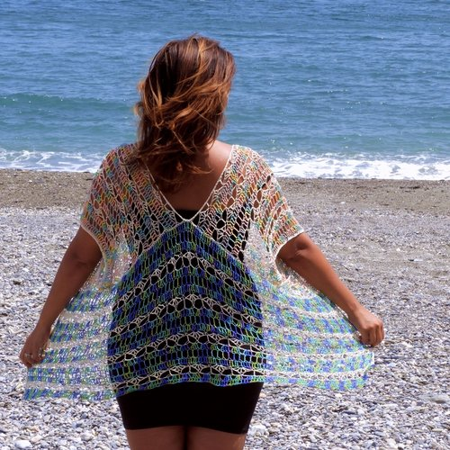 Under The Sea Kimono Crochet Pattern Nomad Stitches