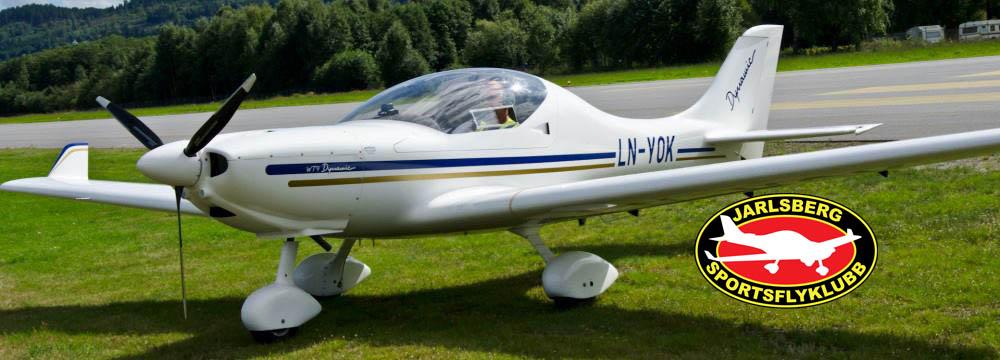 Jarlsberg Sportsflyklubb - klubbflyet LN-YOK