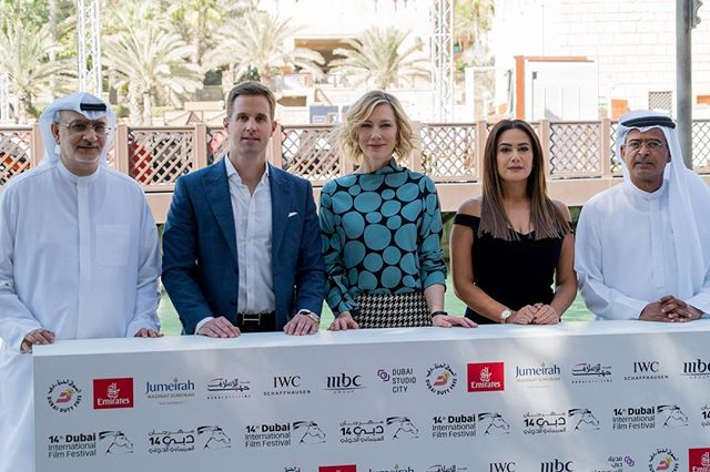 The @iwcwatches Film jury for the 14th edition of @dubaifilmfestival including @cateblanchett . . . . . #eventphotography #filmjury #filmfestival #canonphotographers #artofvisuals #kirkland #contentcreators