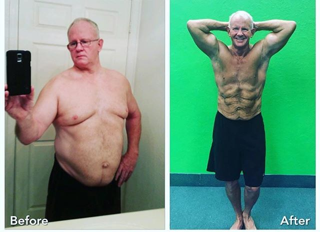 Richard lost over 62 pounds on my 3T FITNESS program in 4 months. Richard is a great example of what can halt when someone finally decides and commits. He is 100% all in he has remained strong!  The 3T FITNESS TEAM is proud to call Richard a friend and Client.  With ❤️, Coach JV  #3TFITNESS #transformationtuesday #body #fitlife #makingchanges #life #motivation #effort #mesa #mesaaz #mesapersonaltraining #personaltrainer #onlinecoaching #checkthisout #repost #share