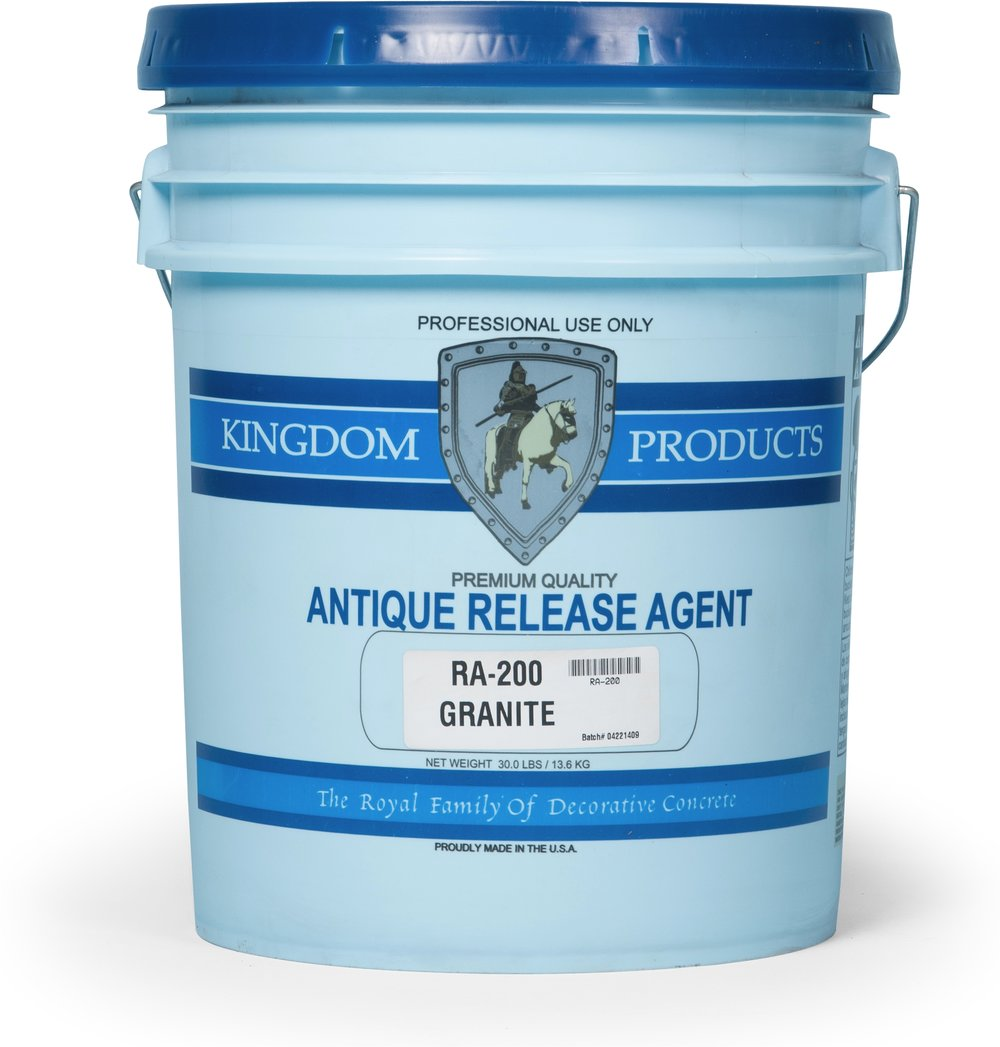 Antique Release Agent   Packaged in 30lb Pails.    Technical Data    Color Chart