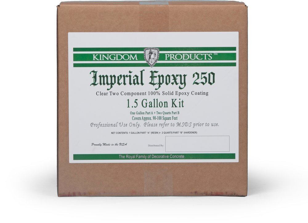 Imperial Epoxy 250    Technical Data