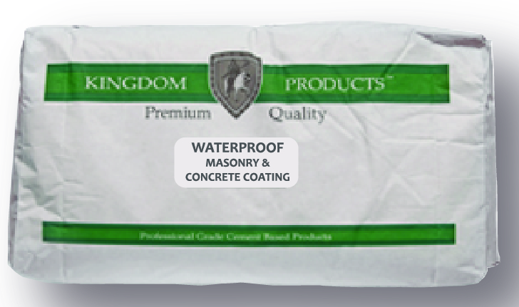 Waterproof Masonry & Concrete Coating