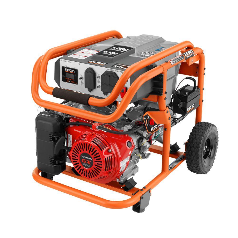 Rigid 6800 Watt Gas