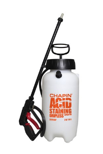 2-GALLON INDUSTRIAL DRIPLESS ACID CLEANING SPRAYER