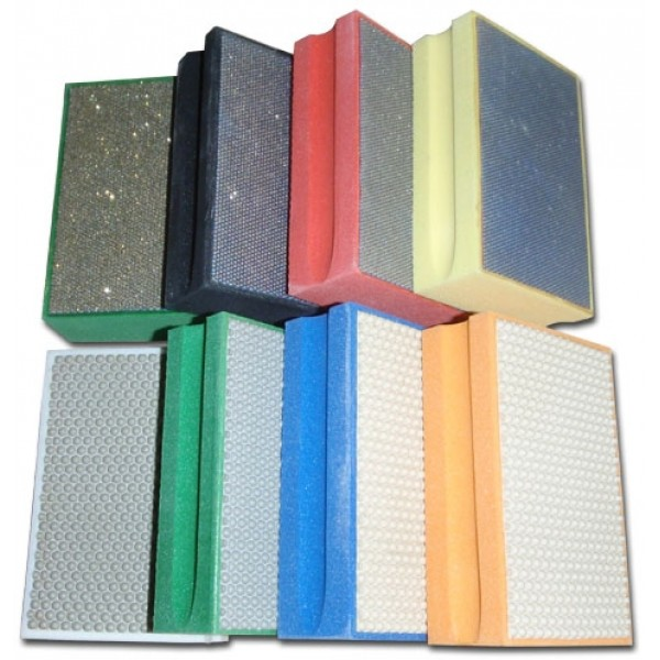 Diamond Hand Polishing Pad