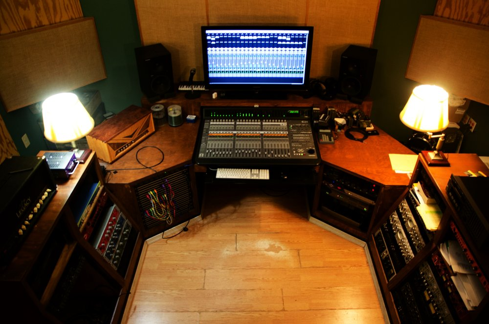 Record your next project with us in our recording studio!
