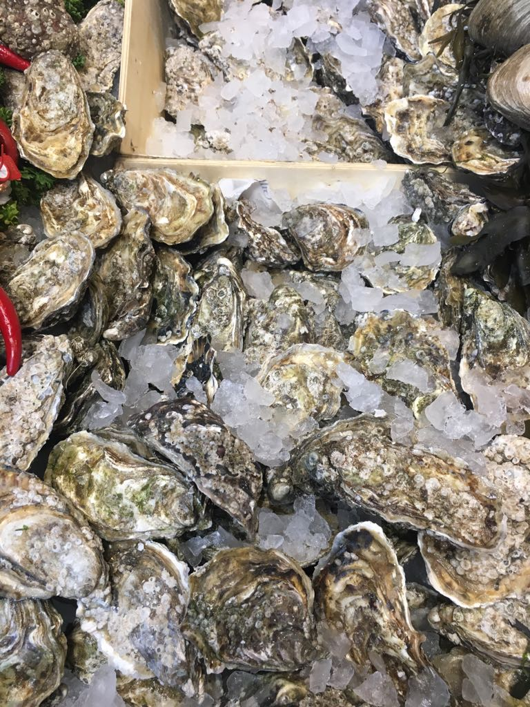 Oysters Tiree Supper Club