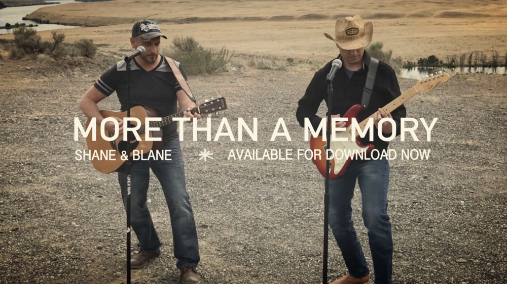 Shane & Blane's More Than a Memory is here! You can buy or stream here:http://itunes.apple.com/album/id1398145652?ls=1&app=itunes