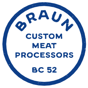 Braun Custom Meat Processing
