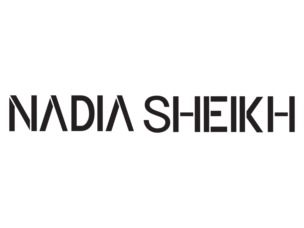 Nadia Sheikh Logo Black Long