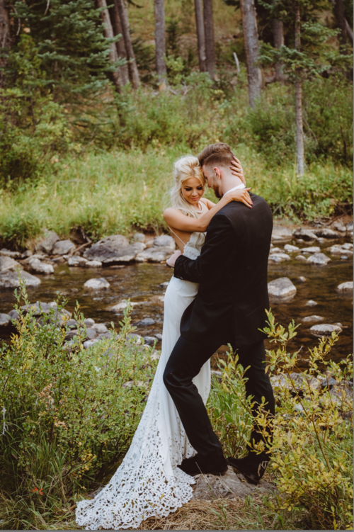 Stylized Bridal shoot with Tony Rocco - Tony Rocco, Brooke Rock Beauty, Hair by Hannah Marie, Manor Vail, The Bridal Collection, Fleur Decor
