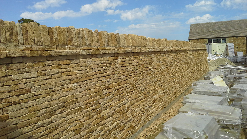 DRY STONE WALLING -
