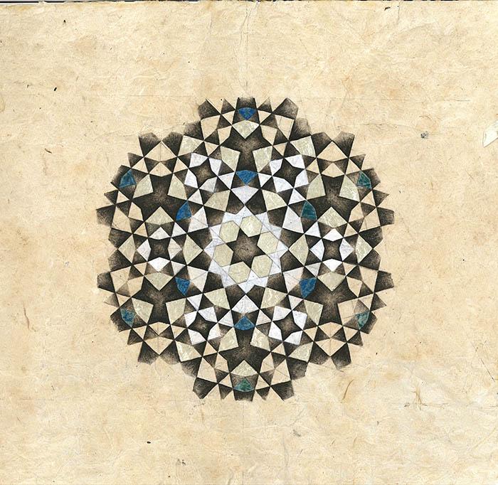 12 Fold Ummayad Geometry
