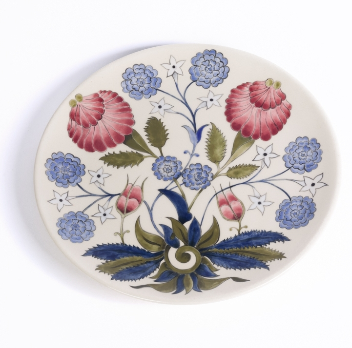 Material: Ceramic plate  Size: 280 mm