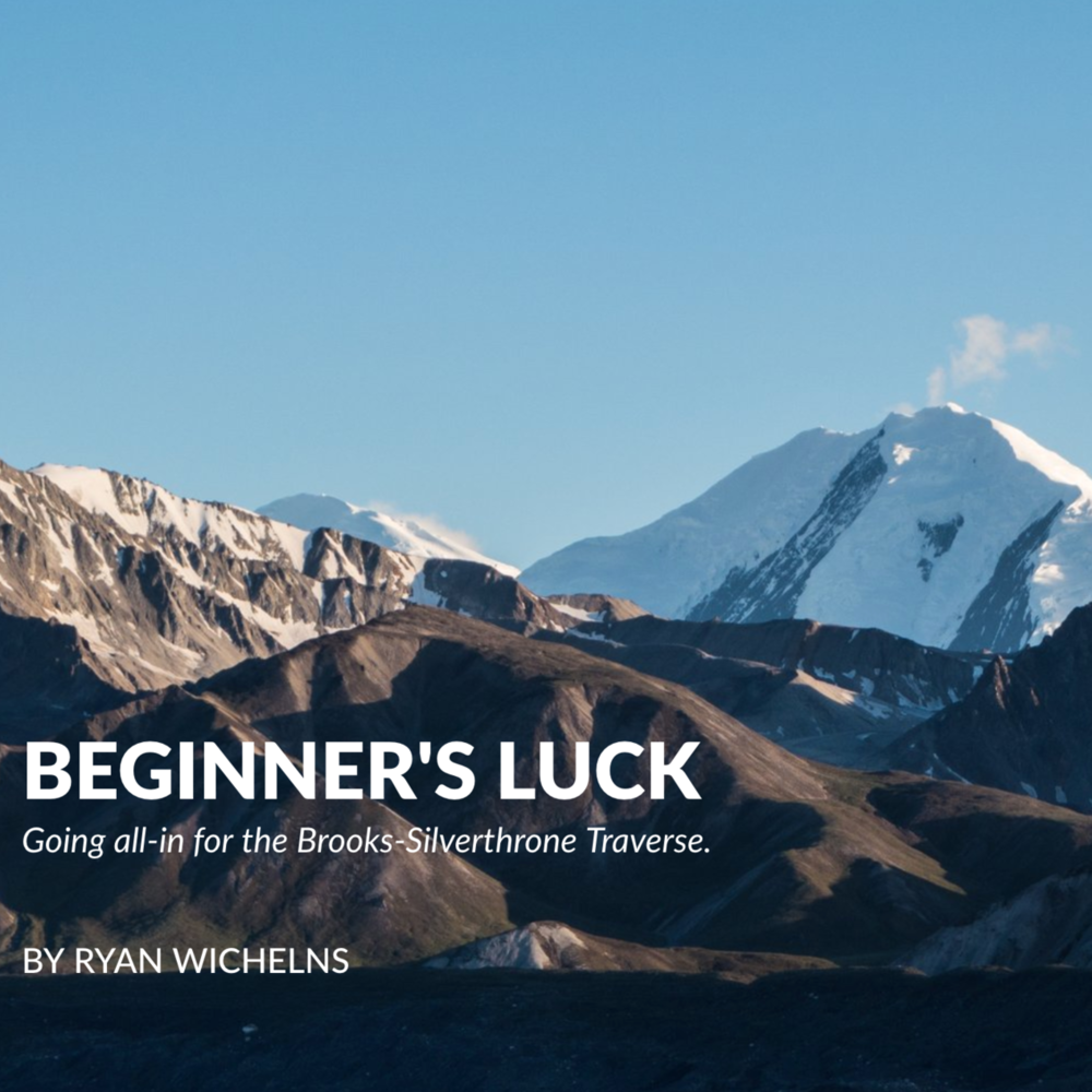Beginner's Luck   Self-published — December 2015