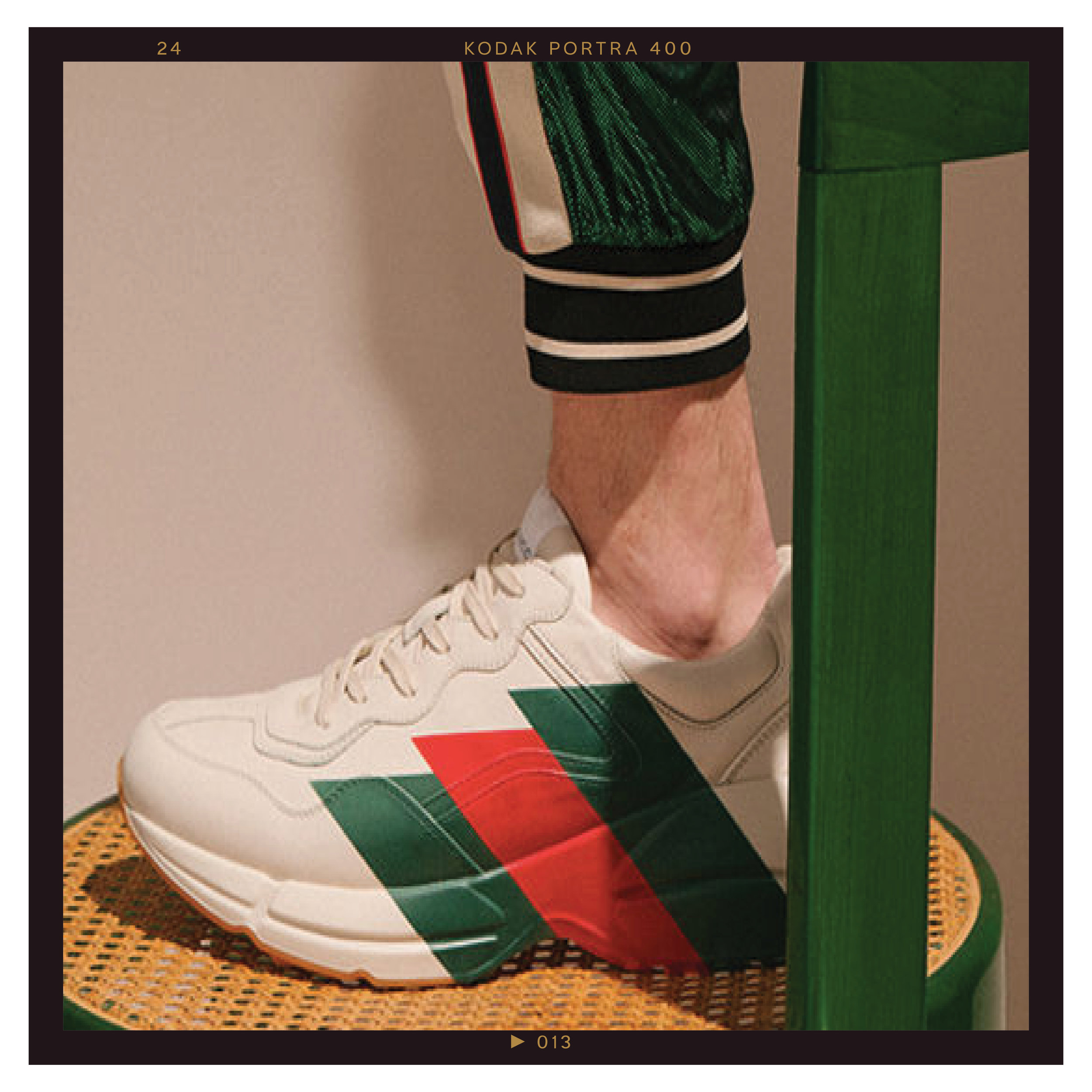 fa26fcc108a Gucci Continues to Bolster Its Rhyton and Flashtrek Silhouettes for ...