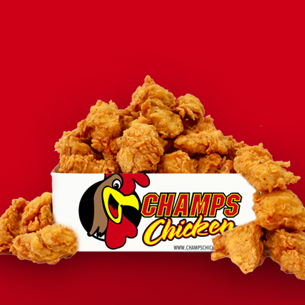Champs Chicken   At Champs Chicken, we understand that QUALITY and CONSISTENCY are game changers.
