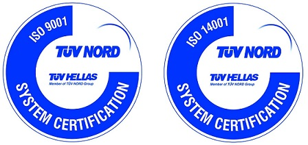 ISO 9001 - 14001 certified