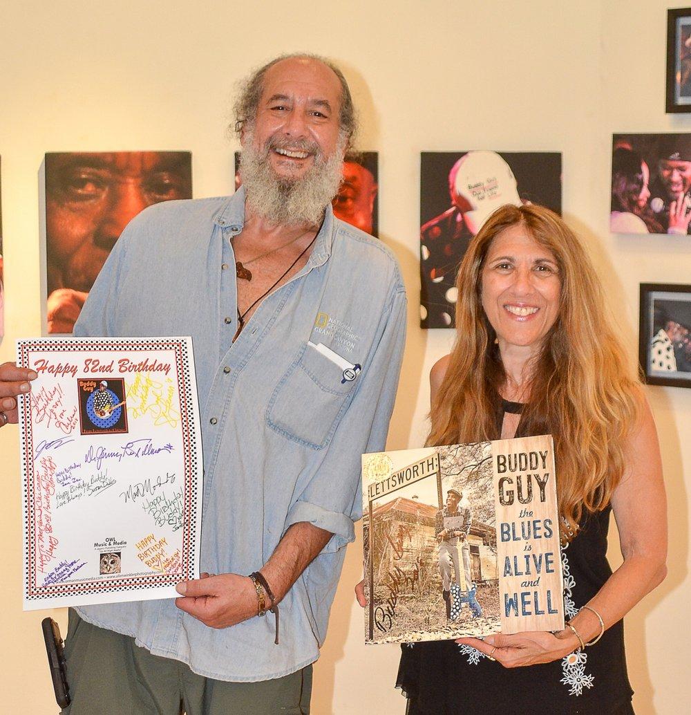 Allen Winkler and Lynn Orman (Founders of OWL Music & Media)