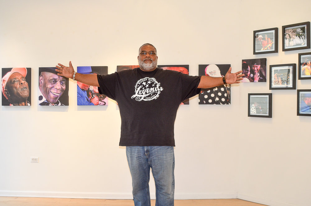 Darryl – Front of House at Buddy Guy's Legends)