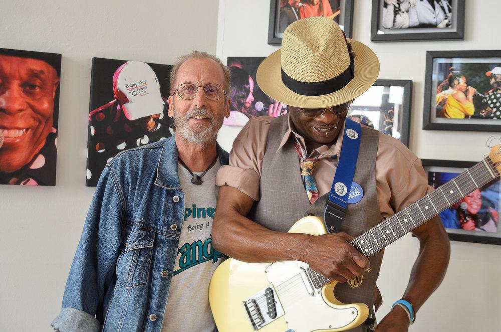 Ken Goldberg and Andre Taylor