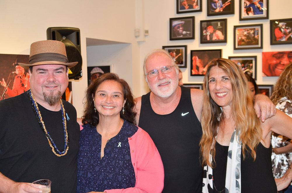 Marty Sammon, Ivy Ahmed, Paul Wertico, Lynn Orman Weiss