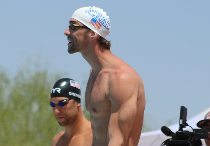 Michael Phelps a tremendous athlete, displaying musculoskeletal compensations.