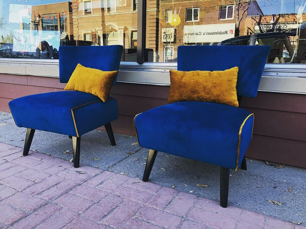 Pair of Occasional Chairs $1100