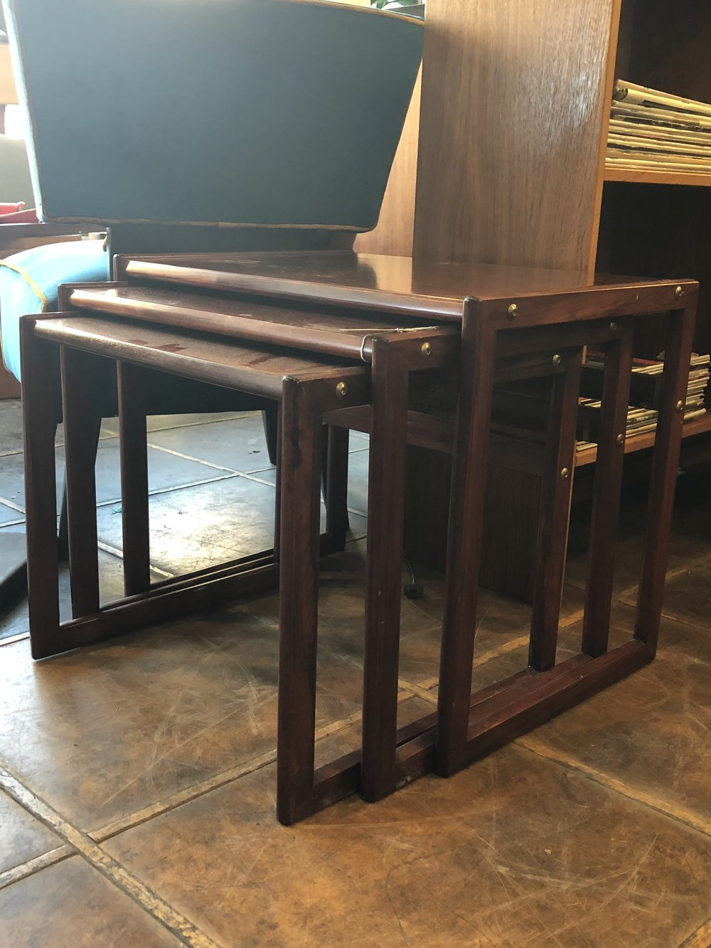 Rosewood Nesting Tables $375.00
