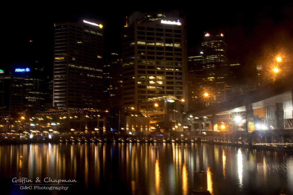 Long Exposure Darling Harbour-- photo by Taylah Chapman
