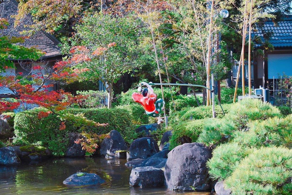 佐渡歴史伝説館 庭園