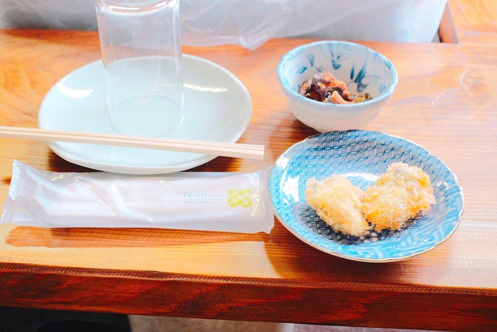 カキフライと牡蠣の佃煮