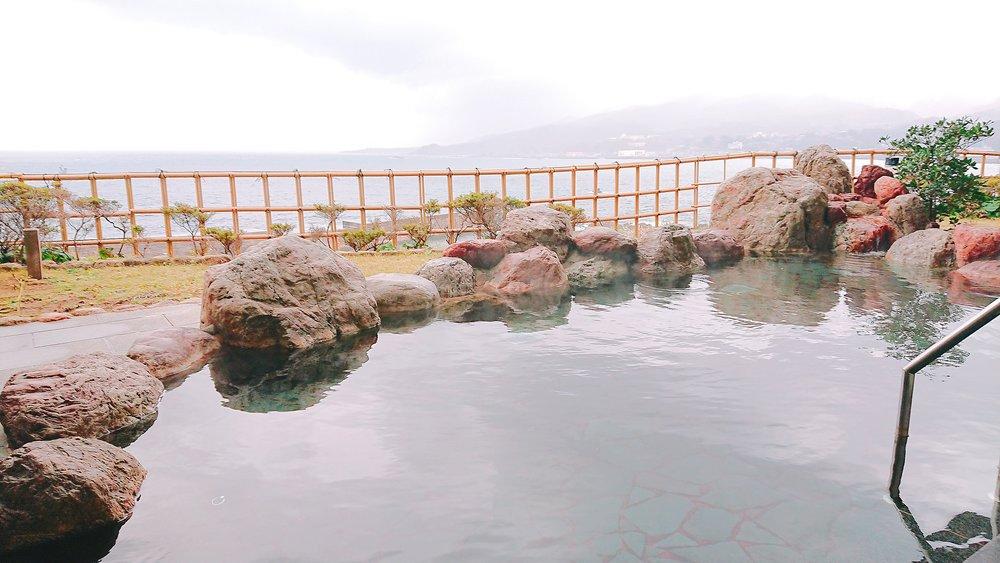 ホテル大佐渡の露天風呂