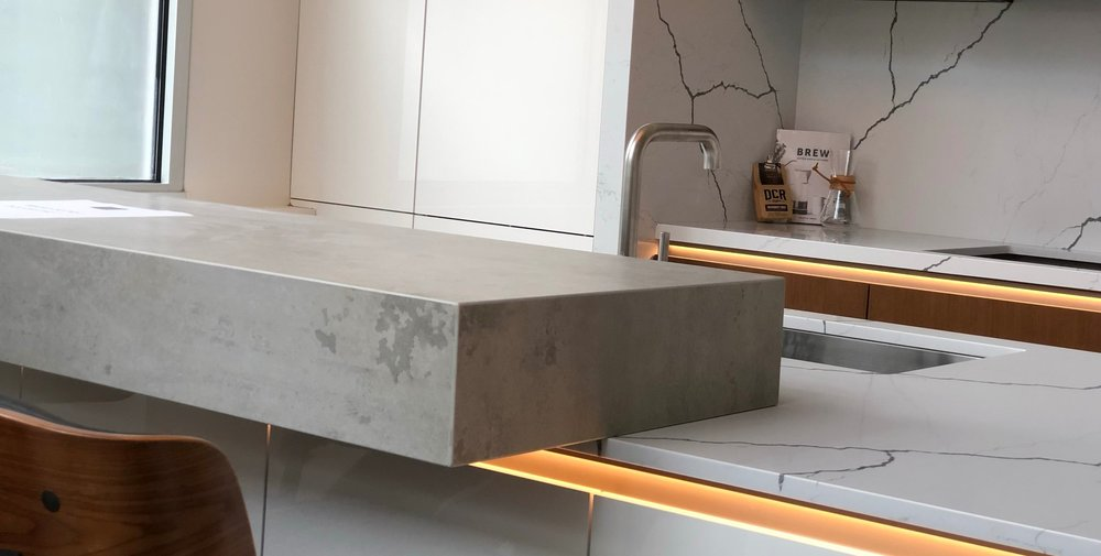 Neolith Sintered Stone - Minimalist Kitchens