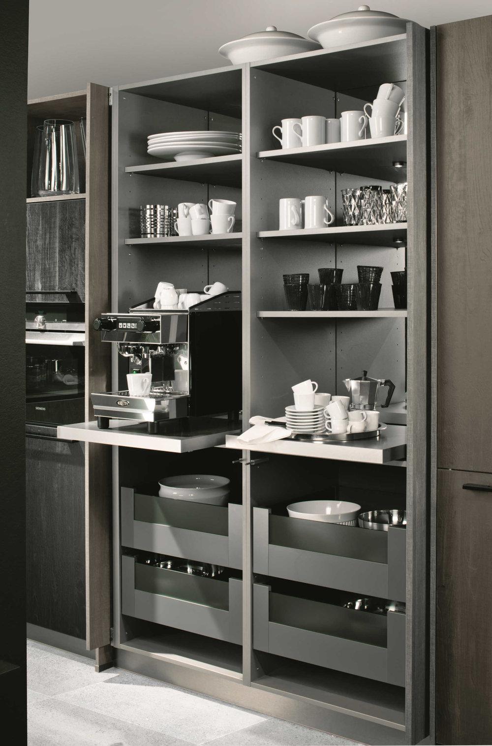 Kitchen Cabinets - Hidden Storage