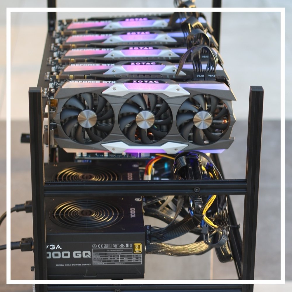 the aionica 2.0 - $9,999.99The Aionica is specially geared to mine the AION coin. It consists of 5 x NVIDIA GeForce 2080TI 11GB GDDR6 GPUs, an AMD Ryzen 2700X Threadripper and is loaded ready to mine to existing mining pools.Shipped | Hosted