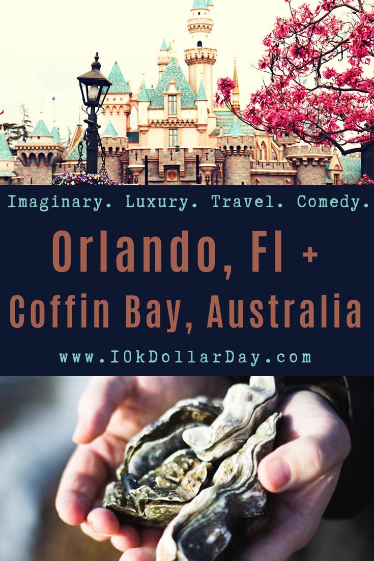 10k Dollar Day in Orlando, Floria + Coffin Bay, Australia - Episode 38