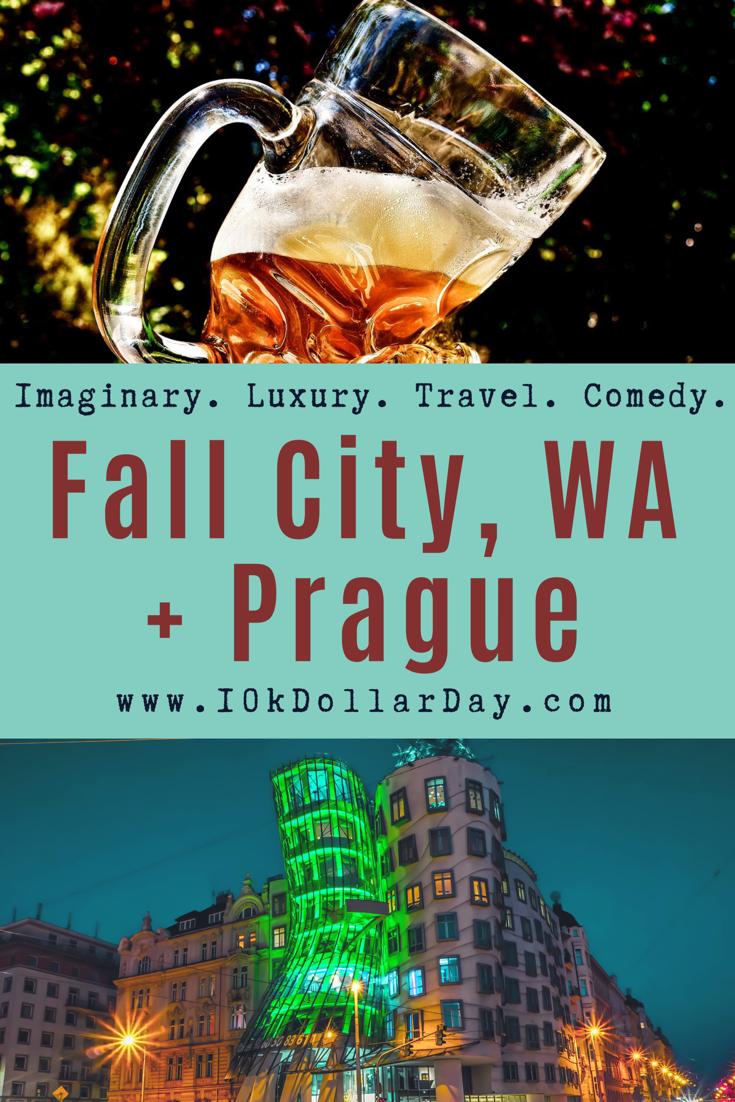 10k Dollar Day in Fall City, Washington, USA + Prague Czech Republic - Episode 37
