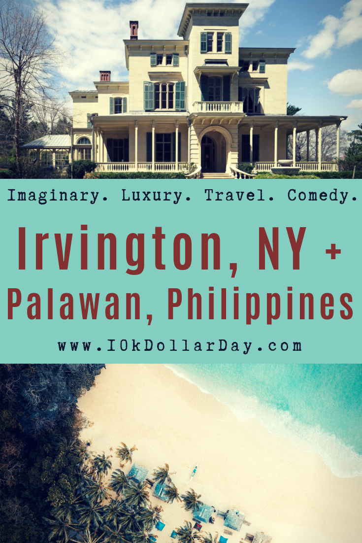 10K Dollar Day in Irvington, NY + Palwan, Philippines