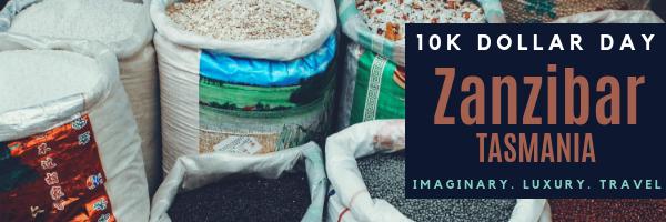 10K Dollar Day in Zanzibar, Tasmania, Africa