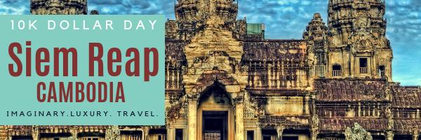10K Dollar Day in Siem Reap, Cambodia