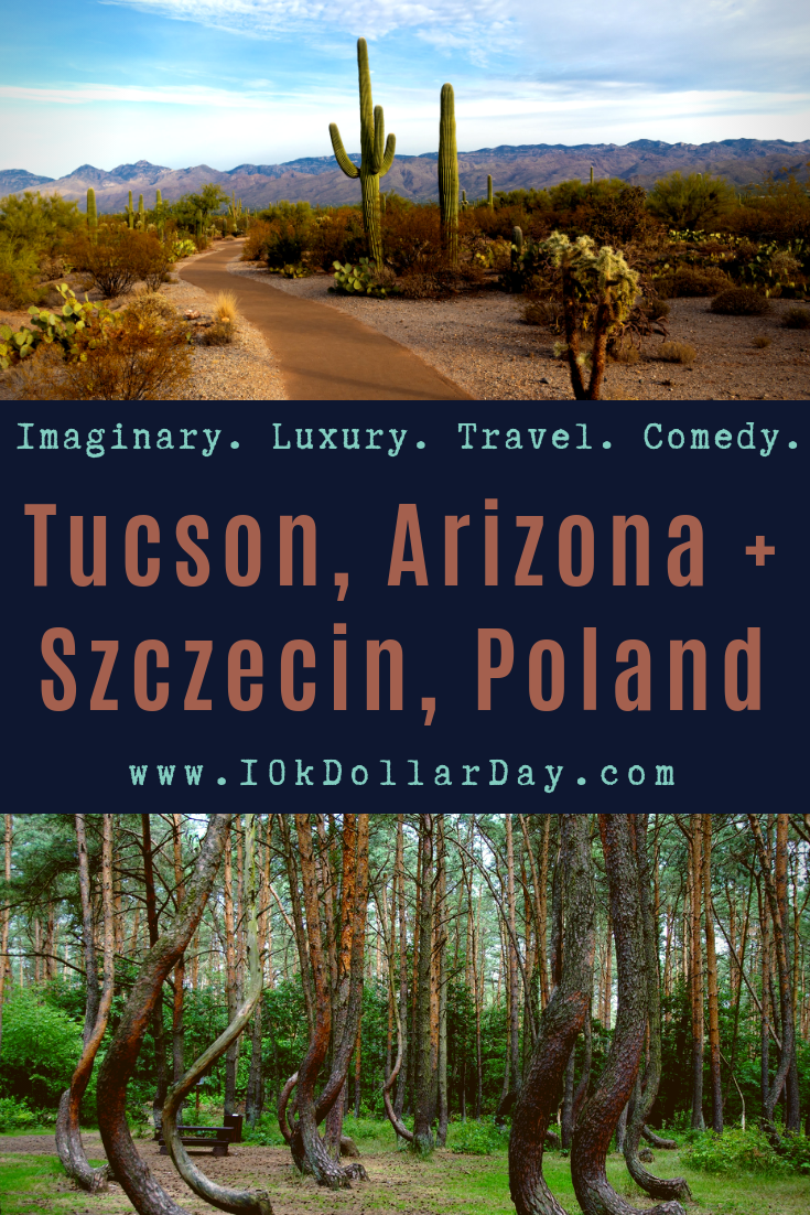 10K Dollar day in Tucson, Arizona + Szczecin, Poland