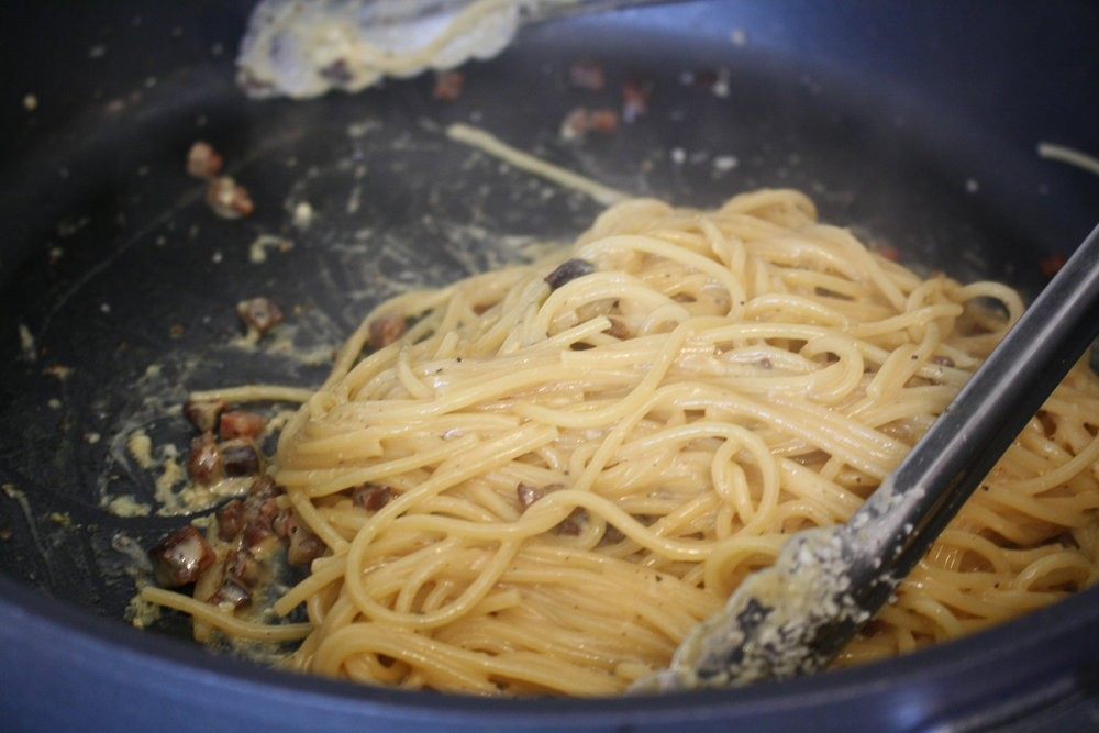 Traditional Carbonara Recipe - No cream finish