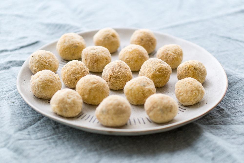 Easy Arancini Recipe - Crumbed Arancini