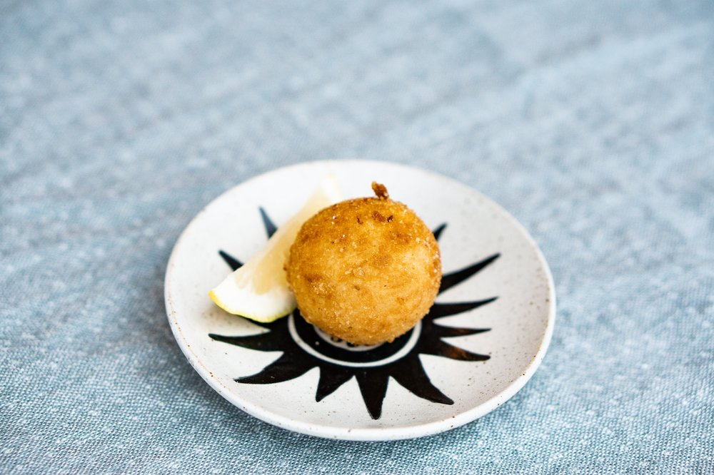 Easy Arancini Recipe - Serve with Lemon
