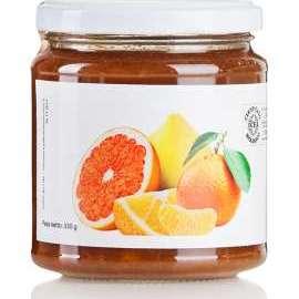 CONFETTURA DI AGRUMI - Descrizione: Sono i frutti più ricchi di vitamina C. Rafforzano il sistema immunitario e l'apparato digerente. Un ottimo apporto di vitamina C influisce positivamente anche sull'umore, alleviando persino il senso di fatica.Ingredienti: arance bio, limoni bio, mandarini bio, zucchero di canna bio.