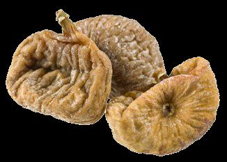 Fichi Secchi - Descrizione: Il fico comune (Ficus carica L.) è una pianta xerofila dei climi subtropicali temperati, appartenente alla famiglia delle Moraceae. Rappresenta la specie più nordica del genere Ficus, produce il frutto detto comunemente fico. Il prodotto viene sottoposto ad un processo di essiccazione naturale per ottenere il fico secco.Stagionalità: tutto l'anno.Proprietà: sono un alimento ad alto contenuto energetico: 100 g apportano circa 270 kcal, ogni fico secco pesa mediamente 20 g e contiene dunque circa 54 kcal. Il frutto fresco è meno calorico: solo 50 kcal per una porzione da 100 g.I carboidrati sono i macronutrienti più abbondati, il 58%, mentre i contenuto di proteine e grassi è minimo, il 3.5% e i 2.7% rispettivamente. Ottimo è l'apporto di fibra alimentare: il 13% del peso dei fichi secchi è appunto costituito da fibra. L'elevata quantità di fibra alimentare, e la presenza della siconina, li rende anche utili per il mantenimento delle normali funzioni intestinali.Come il frutto fresco, i fichi secchi sono particolarmente ricchi di sali minerali, potassio, ferro e magnesio, e di vitamina C e A. Questo frutto essiccato si distingue anche per la facile digeribilità, garantita dalla presenza di mucillagini ed enzimi.