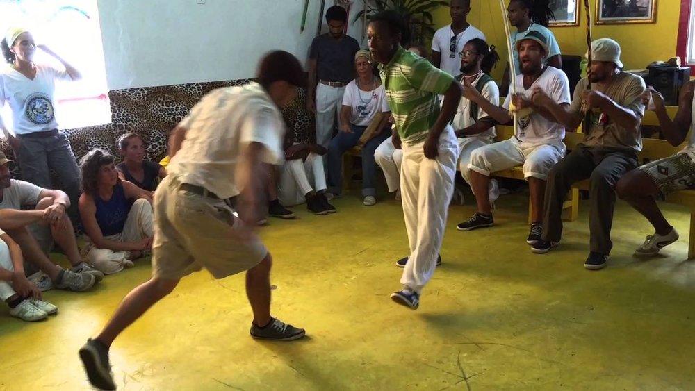 Photograph: Capoeira Angola ECAMAR