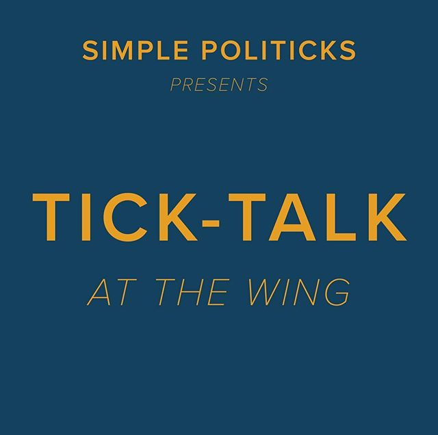 "We're hosting our first event this Monday August 6th at @the.wing, and it's open to non-members! Link in bio to RSVP.  Simple Politicks founder @taysydberg is leading a discussion on ticks and the infections they spread. Join @sinianderson, director of upcoming feminist Lyme documentary So Sick, and Mayla Hsu, Ph.D., Director of Research and Science at @globallymealliance, to talk prevention, diagnosis, and treatment, and how climate change, gender, and socioeconomic factors compound this global health crisis.  Nonbinary/gnc folks and women are invited to attend this event.  If you have any questions, send a message to events@simplepoliticks.org  Image description: Gold text on navy background, reading ""Simple Politicks presents Tick-Talk at The Wing"""